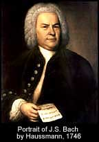 Haussmann portrait of J.S. Bach